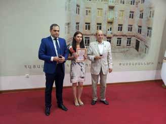 Bourses 2015 'R. YEZEGUELIAN' au barreau d'Arménie